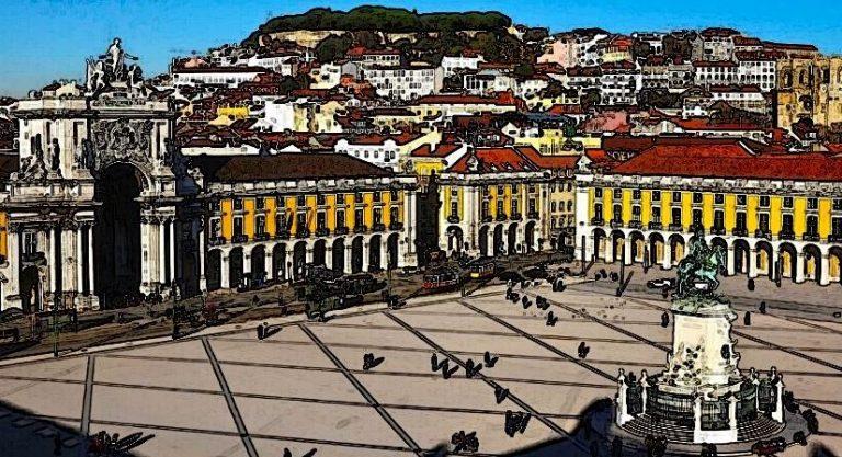 Lisbon - Republic Square