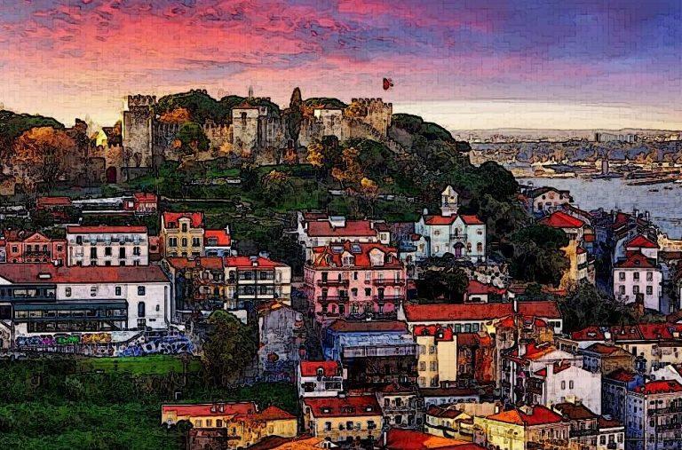 Portugal Landscape Sky